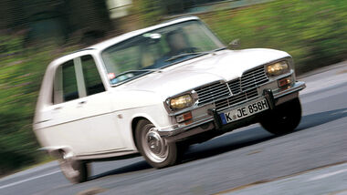 Renault 16, Front, Kurvenfahrt