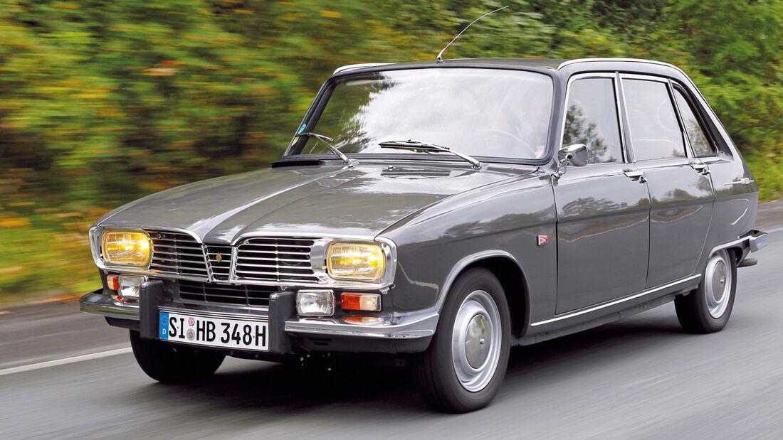 Renault 16, Frontansicht