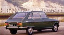 Renault 16, Heckansicht