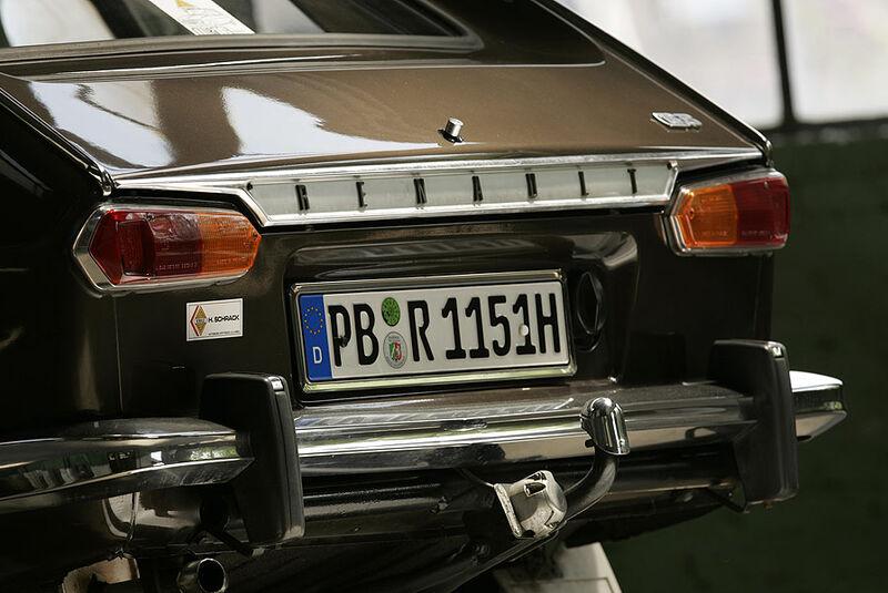 Renault 16 - Heckansicht