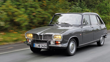 Renault 16 TS, 1968, Front
