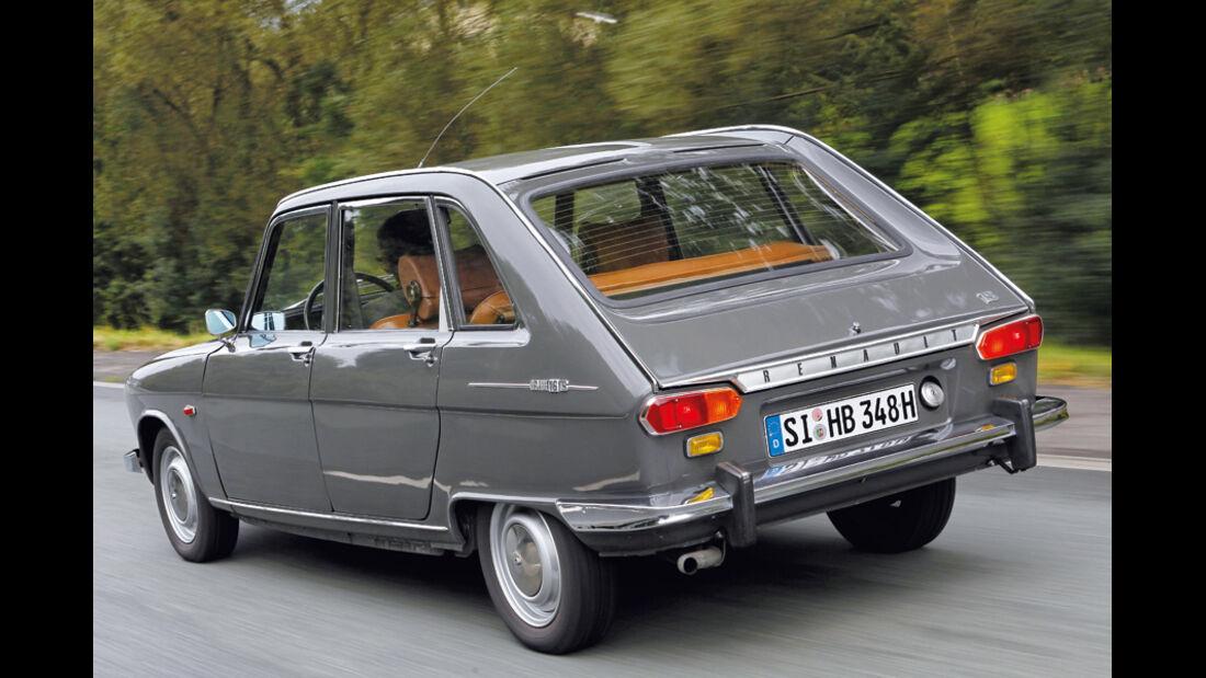 Renault 16 TS, 1968, Heck