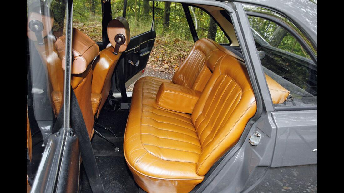 Renault 16 TS, 1968, Ledersitze, Detail