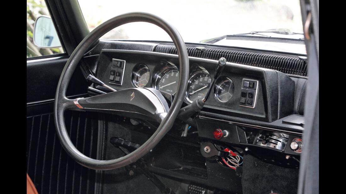Renault 16 TS, 1968, Lenkrad, Cockpit, Detail