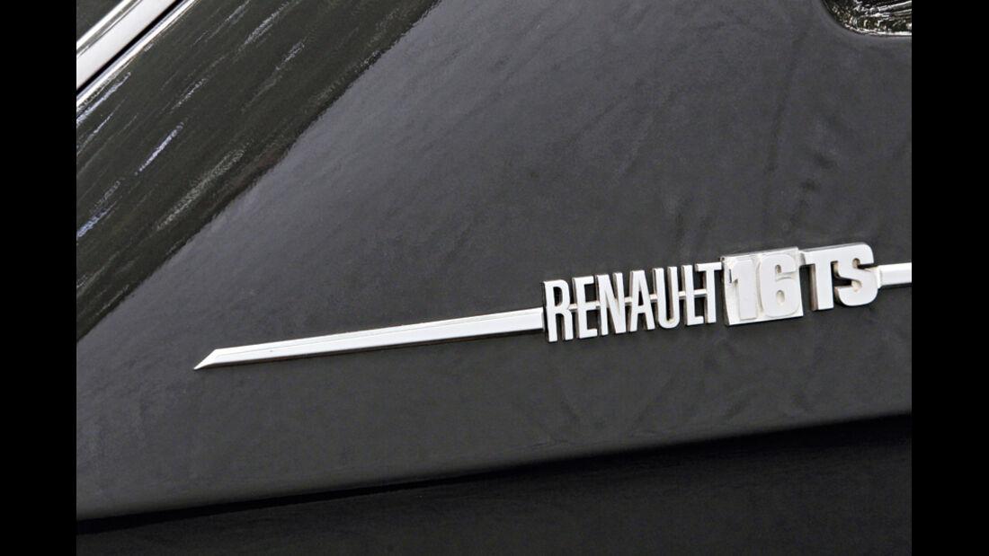 Renault 16 TS, 1968, Logo, Detail
