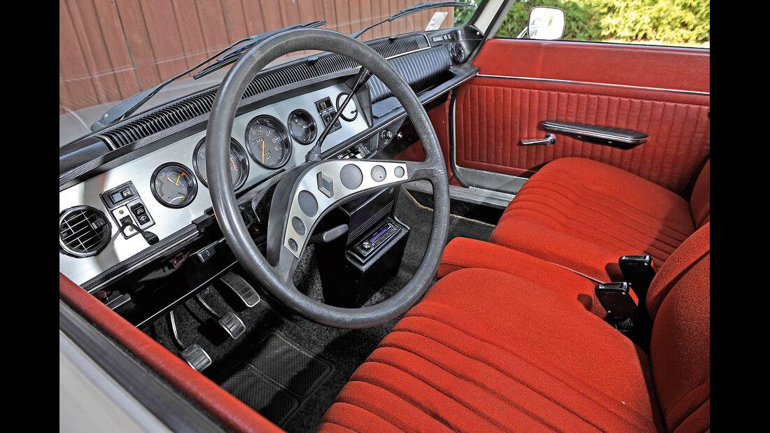 Renault 16 TX, Cockpit, Interieur