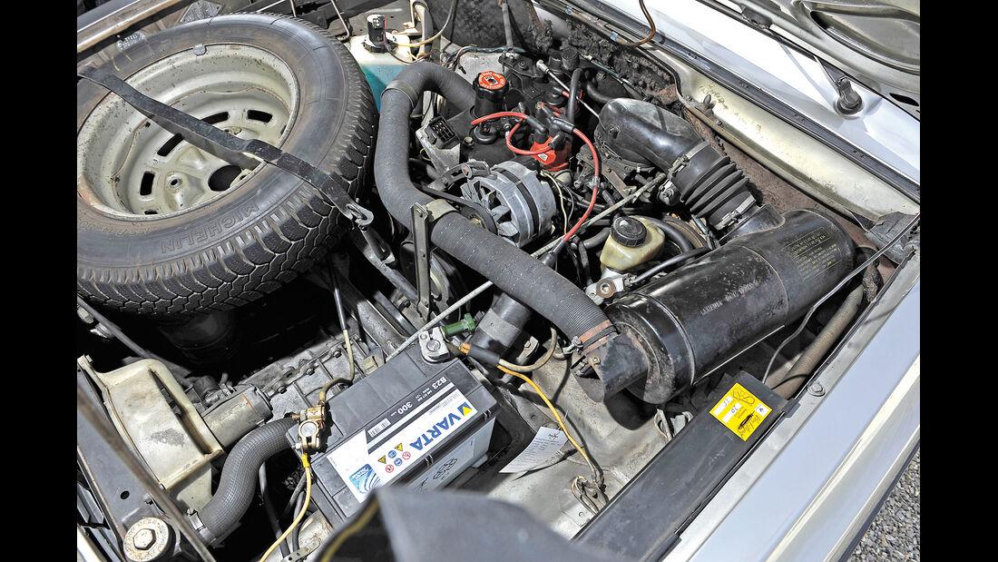 Renault 16 TX, Motor