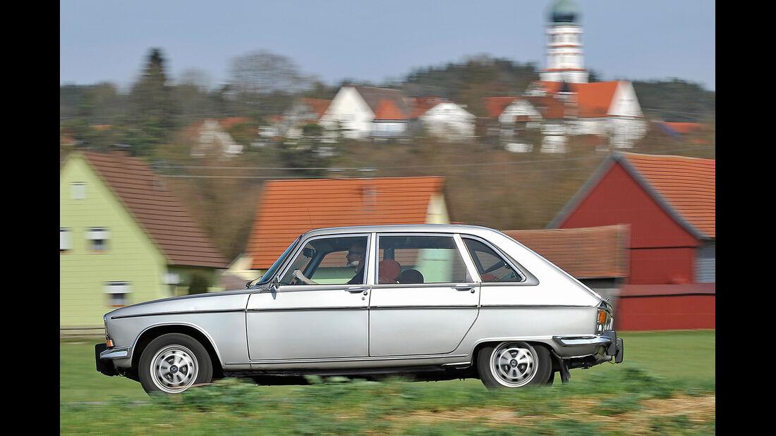 Renault 16 TX, Seitenansicht