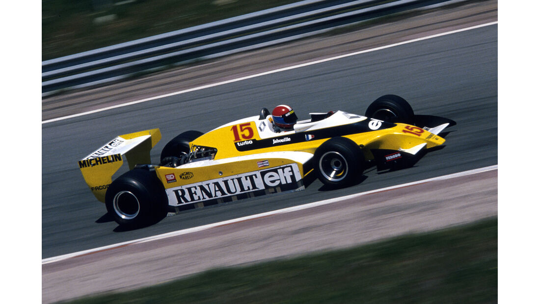 Renault - 1979 - GP Spanien - Jarama - F1