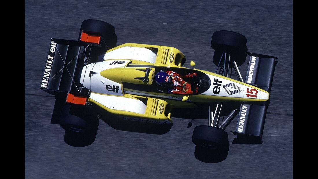 Renault - 1984 - GP Brasilien - F1