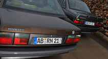 Renault 21 Exclusiv, Renault 21 Turbo, Heck