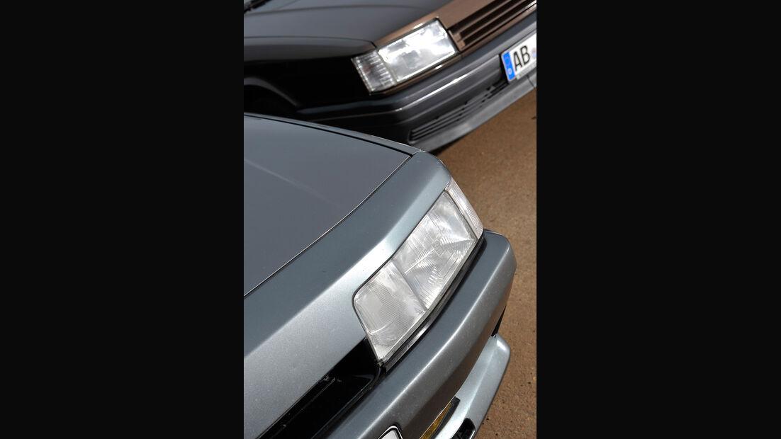 Renault 21, Renault 21 Exclusiv, Frontscheinwerfer
