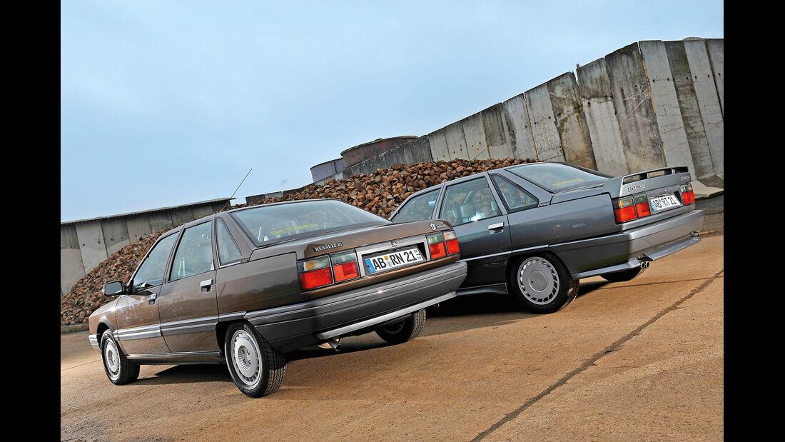 Renault 21, Renault 21 Exclusiv, Heckansicht