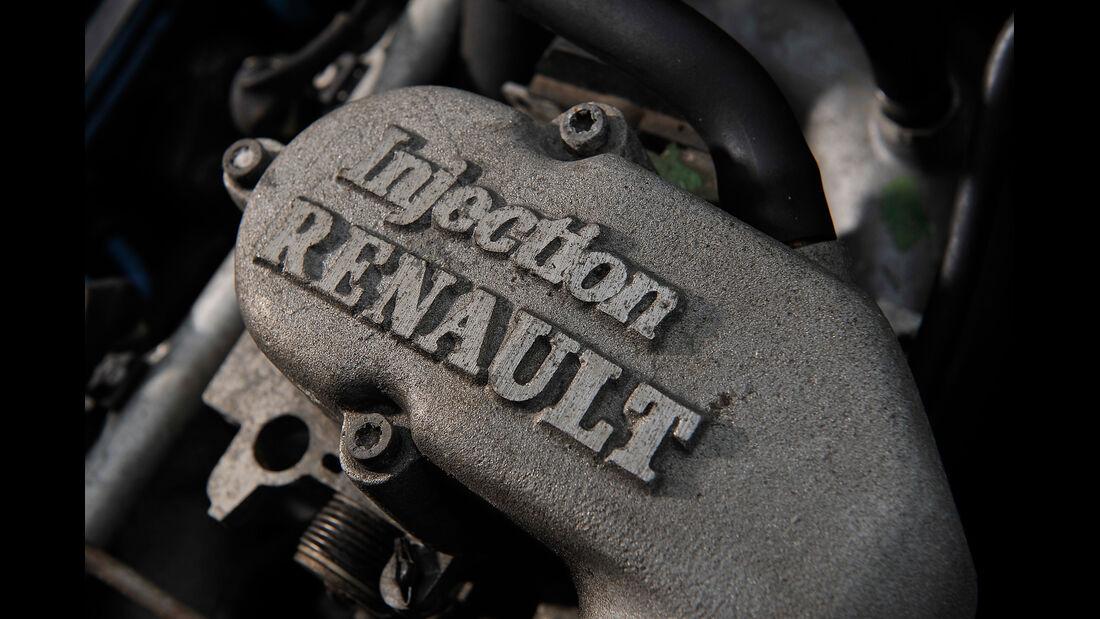 Renault 21 Turbo, Motor