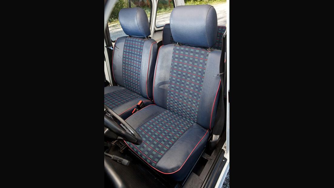 Renault 4, Fahrersitz