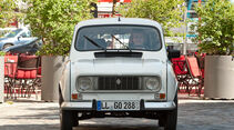 Renault 4, Frontansicht