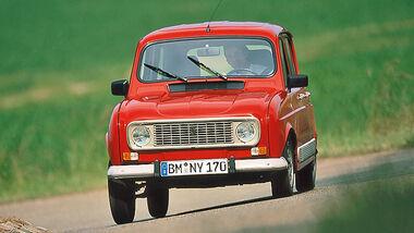 Renault 4 GTL, Frontansicht