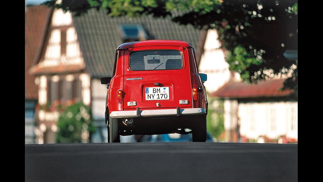 Renault 4 GTL, Heckansicht