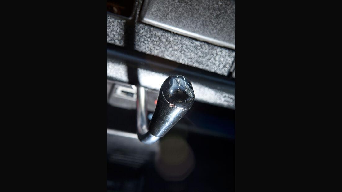 Renault 4, Schalthebel, Gangschalter