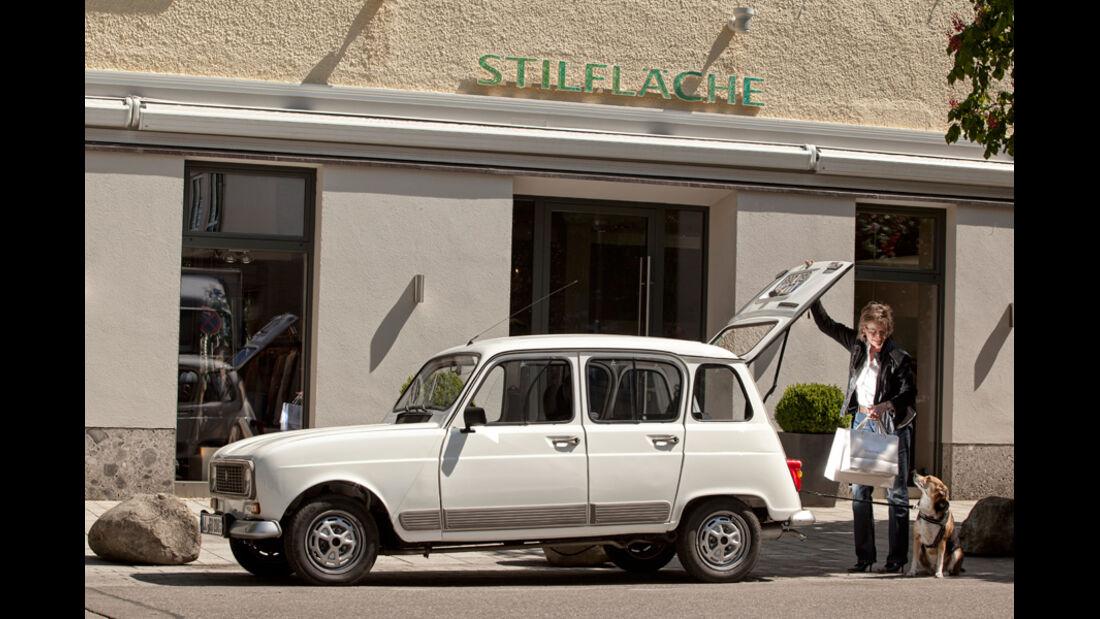 Renault 4, Seitenansicht, Jeannette, Starnberg