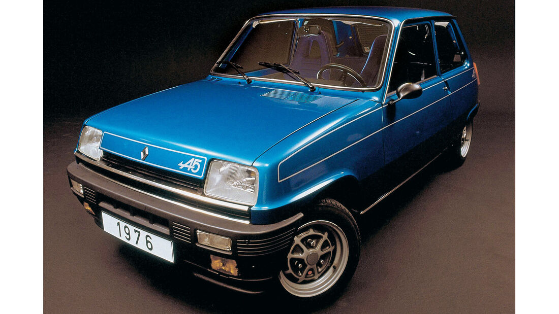Renault 5 Alpine, Frontansicht