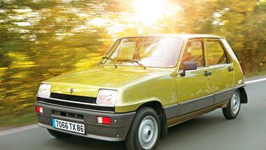 Renault 5, Frontansicht