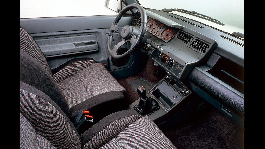 Renault 5 GT Turbo, Innenraum