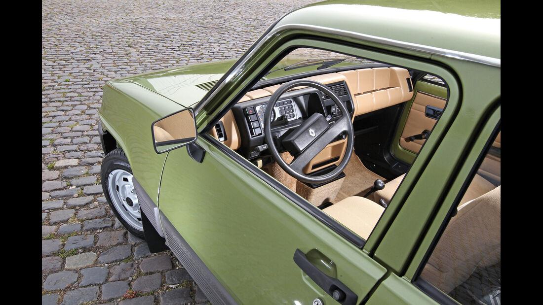 Renault 5 GTL, Cockpit, Lenkrad