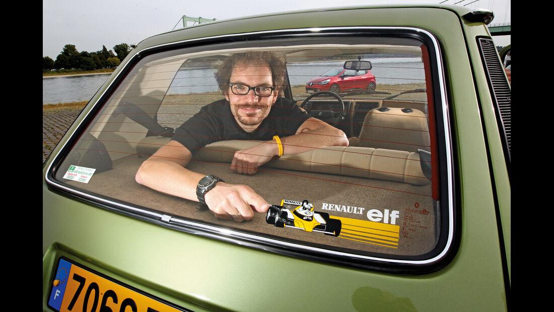 Renault 5 GTL, Heckscheibe, Ablage