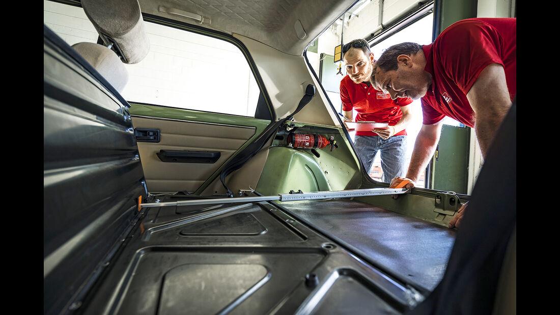 Renault 5 GTL, Kofferraum