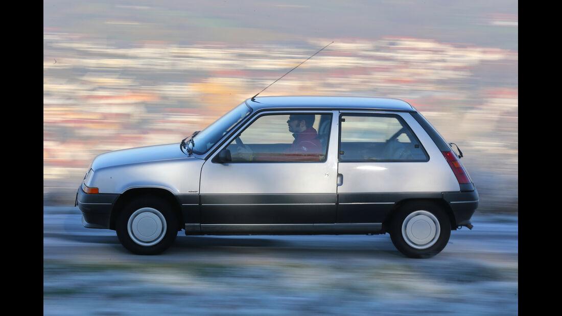 Renault 5 GTL, Seitenansicht