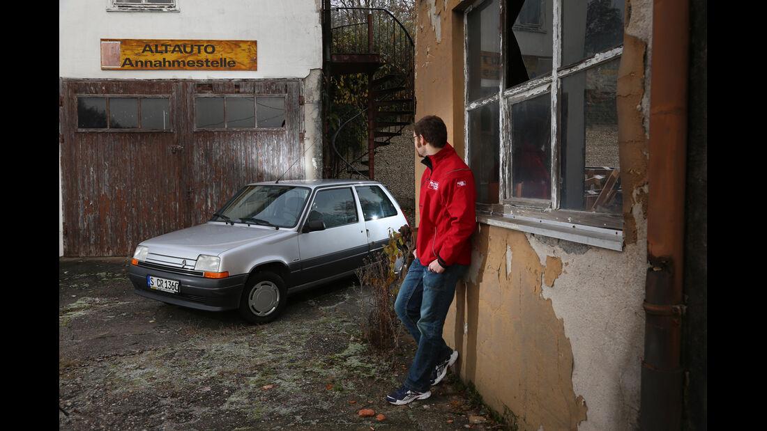 Renault 5 GTL, Seitenansicht, Sebastian Renz