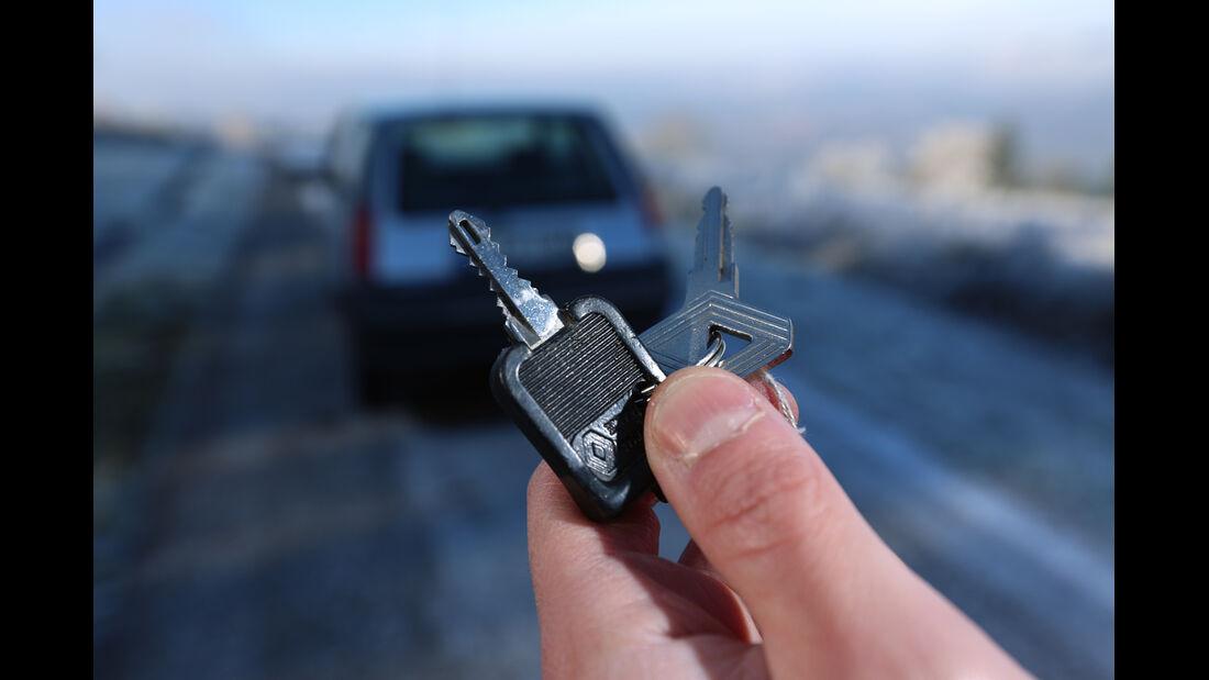 Renault 5 GTL, Zündschlüssel