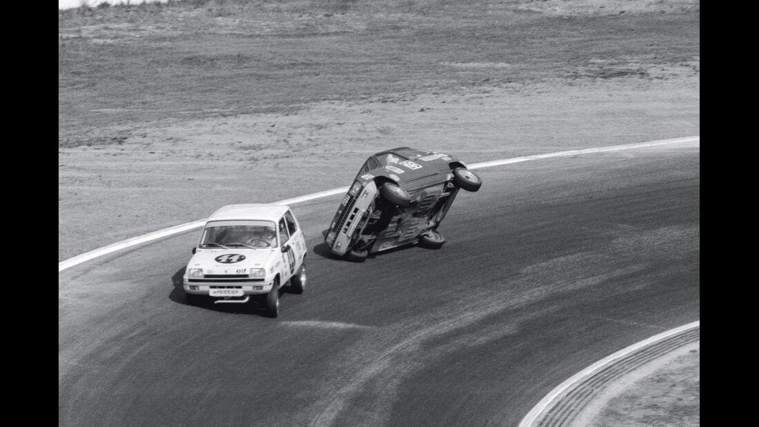 Renault 5-Pokal, Sachskurve, Überschlag