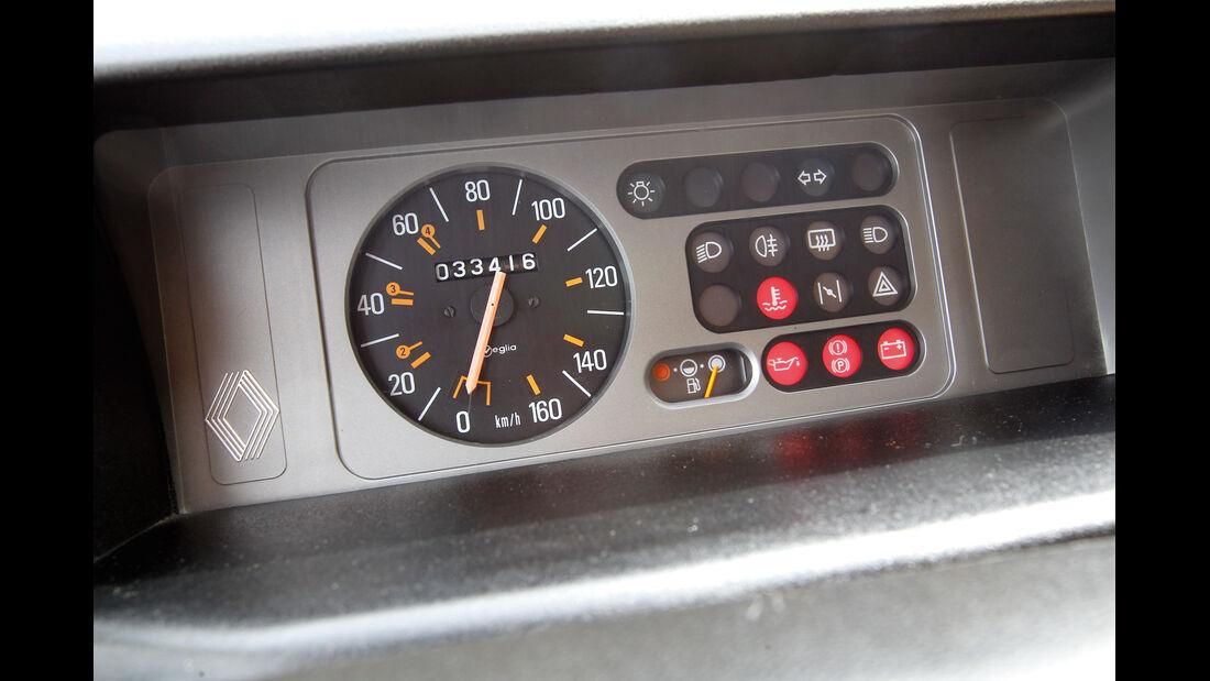 Renault 5, Rundinstrument, Tacho