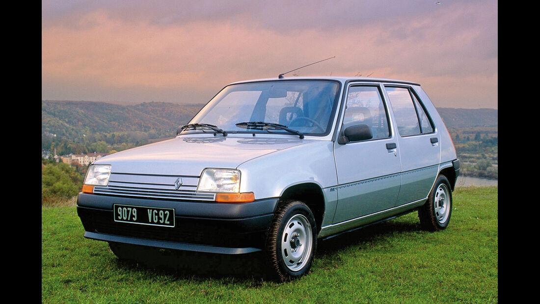 Renault 5 Supercinq, Frontansicht