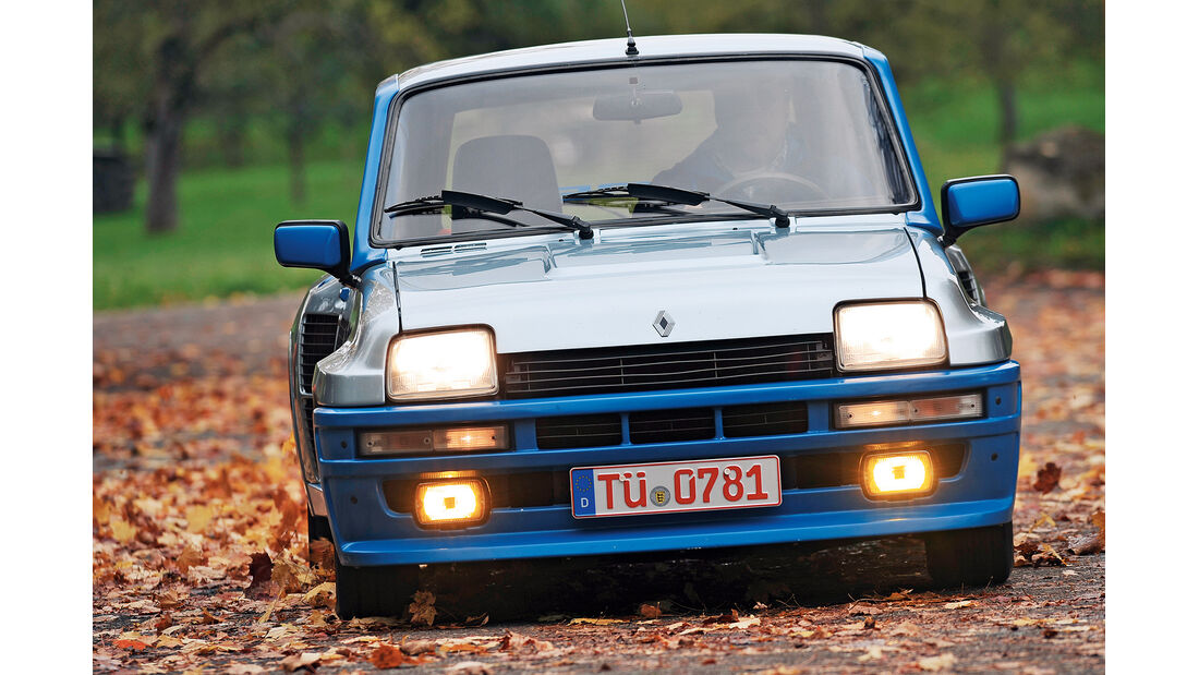 Renault 5 Turbo, Frontansicht