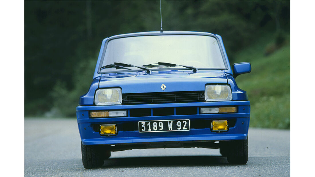 Renault 5 Turbo - Frontansicht