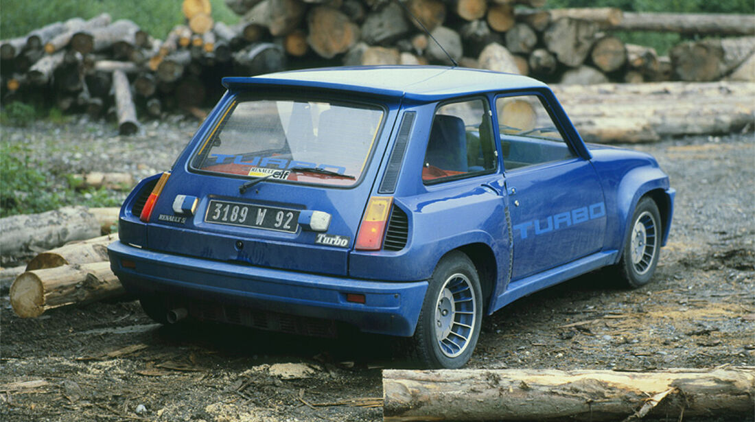 Renault 5 Turbo - Heckansicht