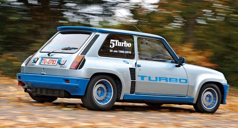 Renault 5 Turbo, Heckansicht