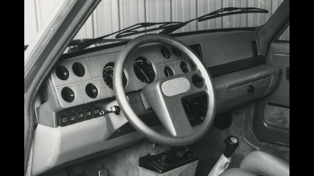 Renault 5 Turbo - Innenraum