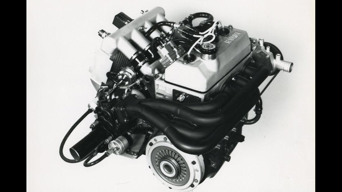 Renault 5 Turbo - Motor