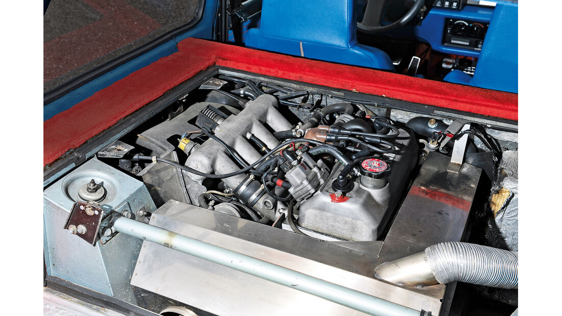 Renault 5 Turbo, Motor