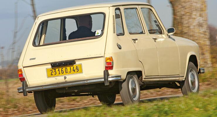 Renault 6, Heckansicht