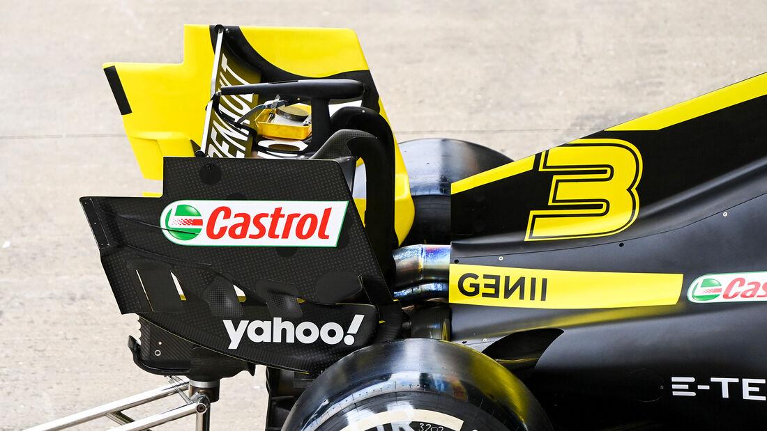 Renault - 70 Jahre F1 GP - Silverstone - Formel 1 - 6. August 2020