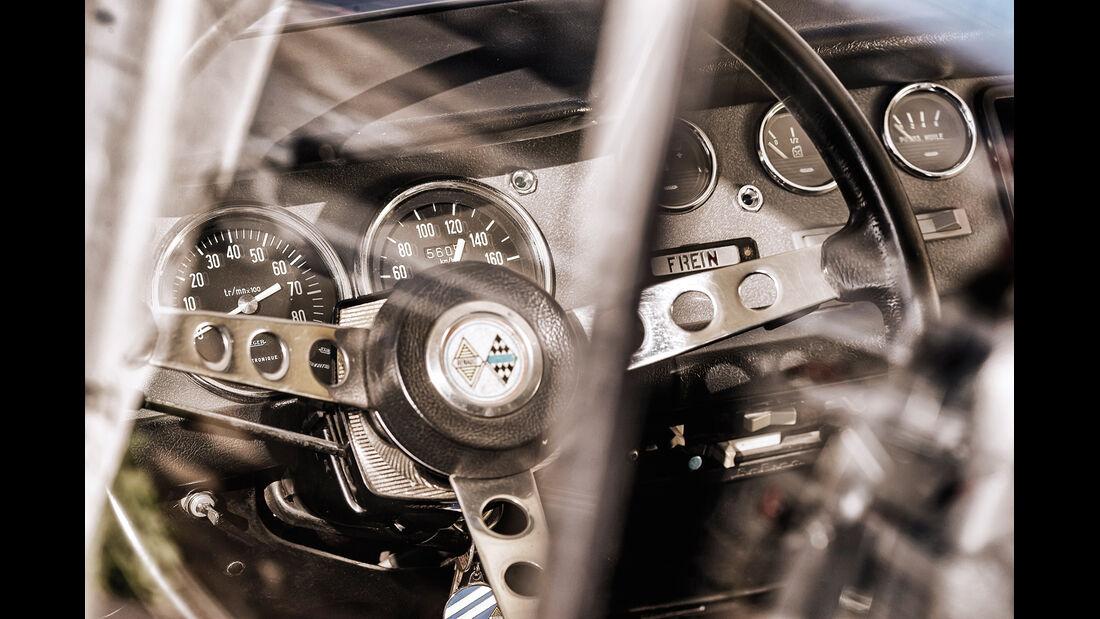 Renault 8 Gordini 1300, Lenkrad