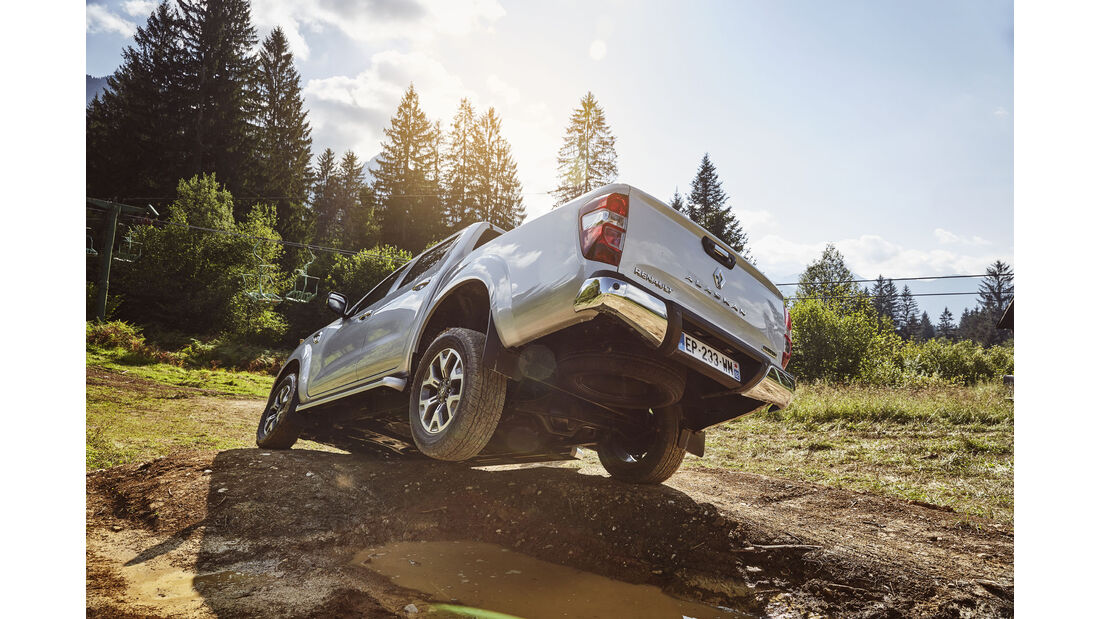 Renault Alaskan Fahrbericht 2017