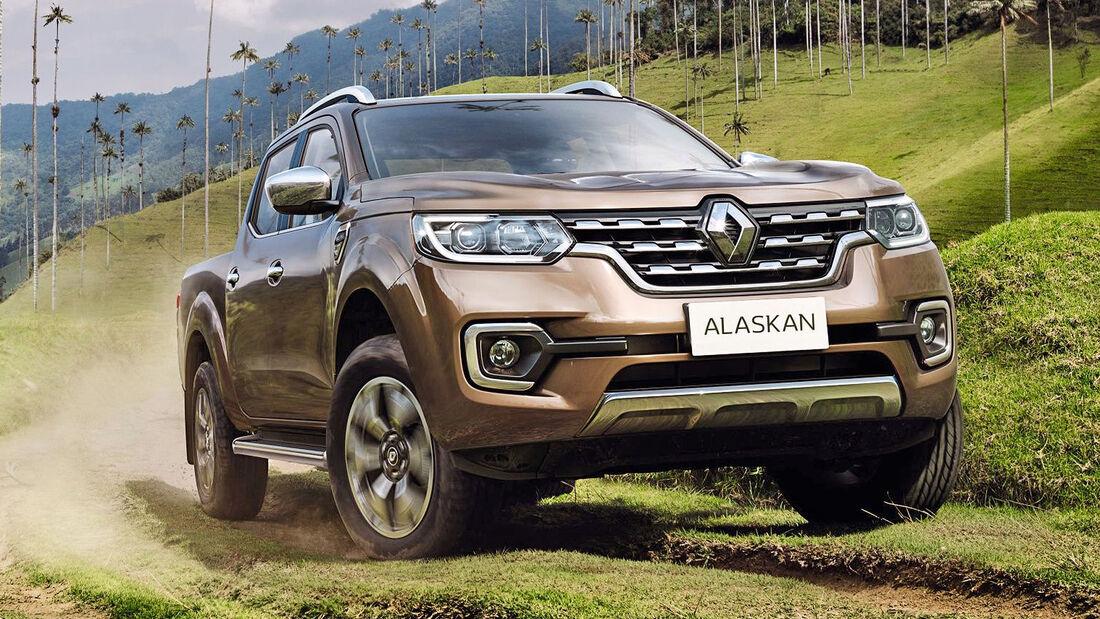 Renault Alaskan Pickup Weltpremiere 2016