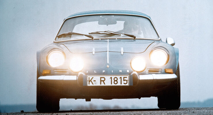 Renault Alpine 1600 S, Frontansicht