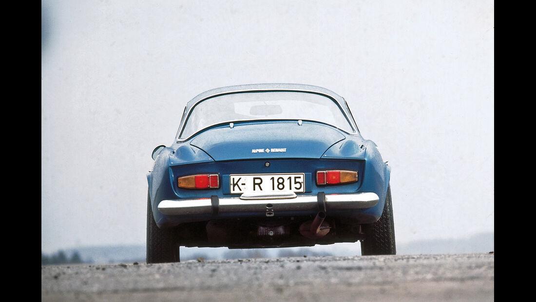 Renault Alpine 1600 S, Heckansicht